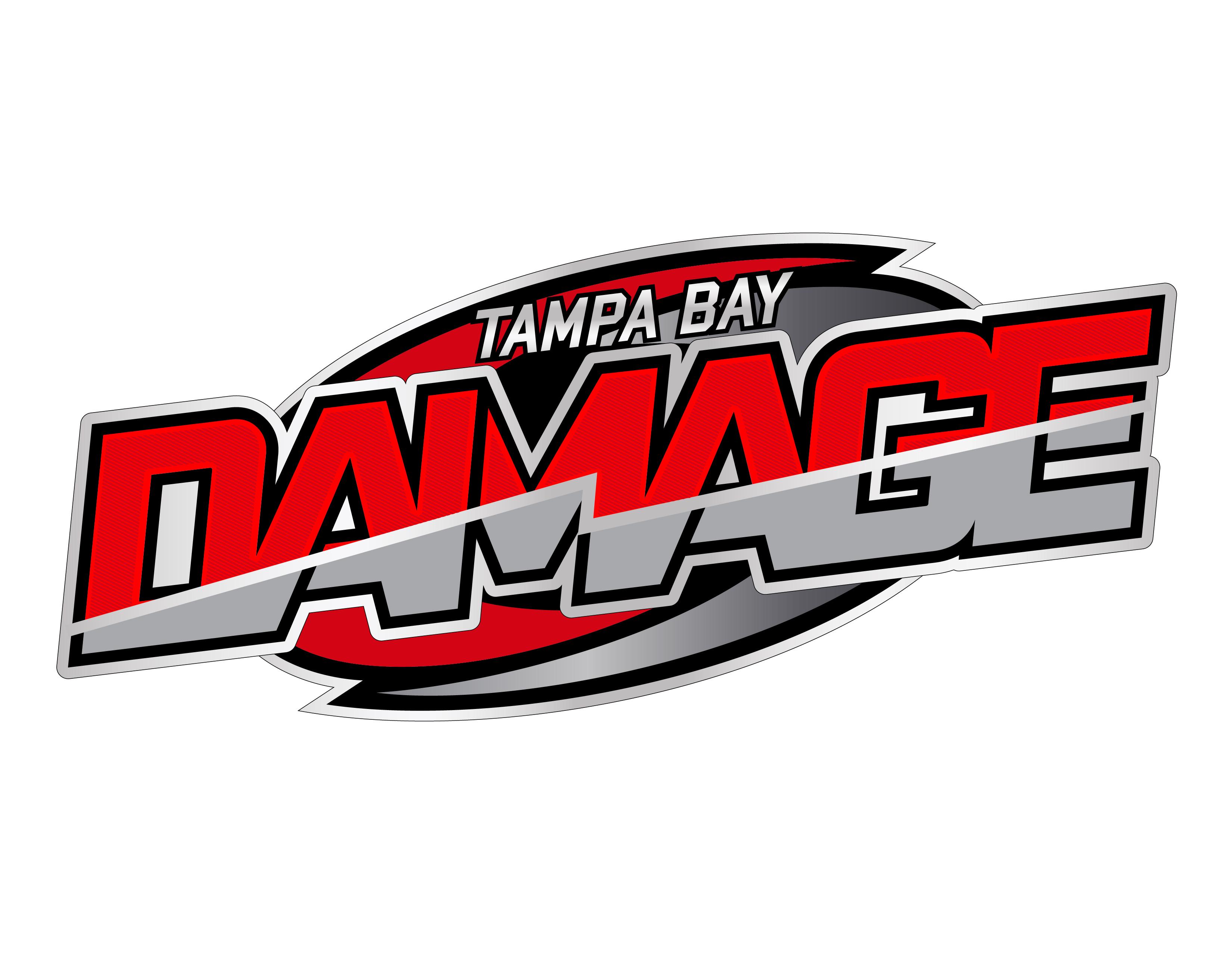 logo redesign for tampa bay damage trevis meseroll designs